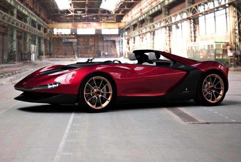 2013 Pininfarina Sergio Concept 5
