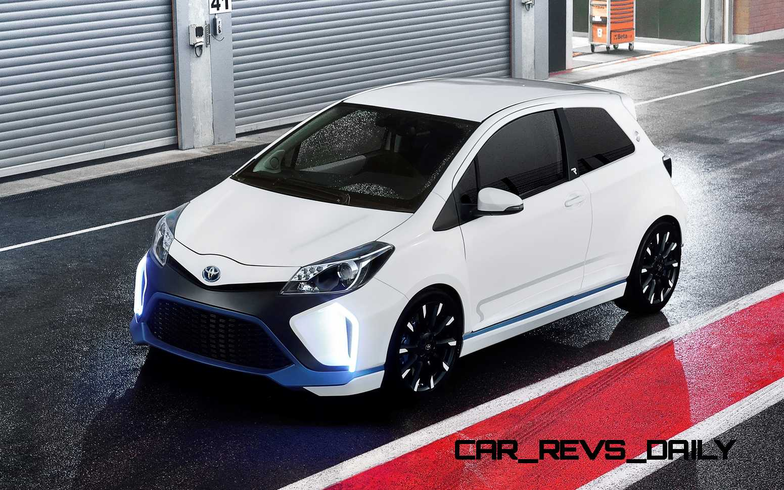 Concept Flashback 2017 Toyota Yaris Hybrid R Previews 420hp Supercapacitor Awd