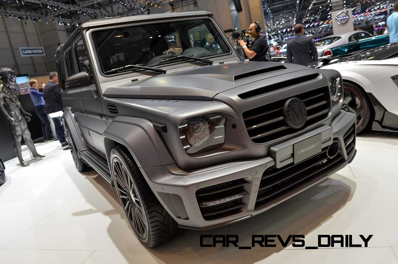 Mansory G Couture And G63 Soft