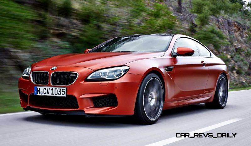 2015 BMW M6 Coupe 2