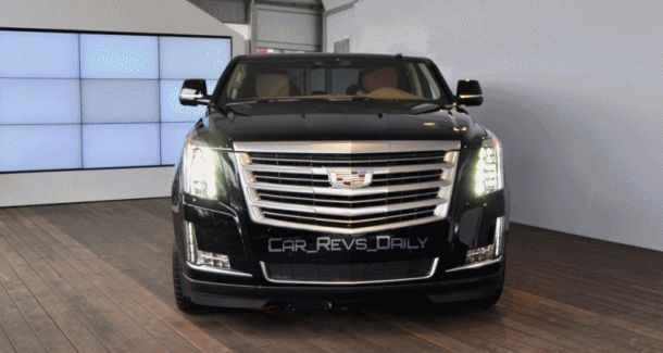 2015 Cadillac Escalade ChopTop Renderings