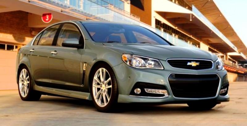 2015 Chevrolet SS 10