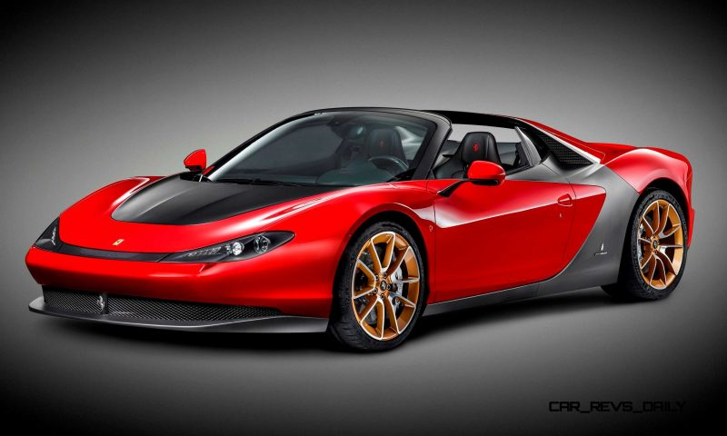 2015 Ferrari Sergio by Pininfarina 4