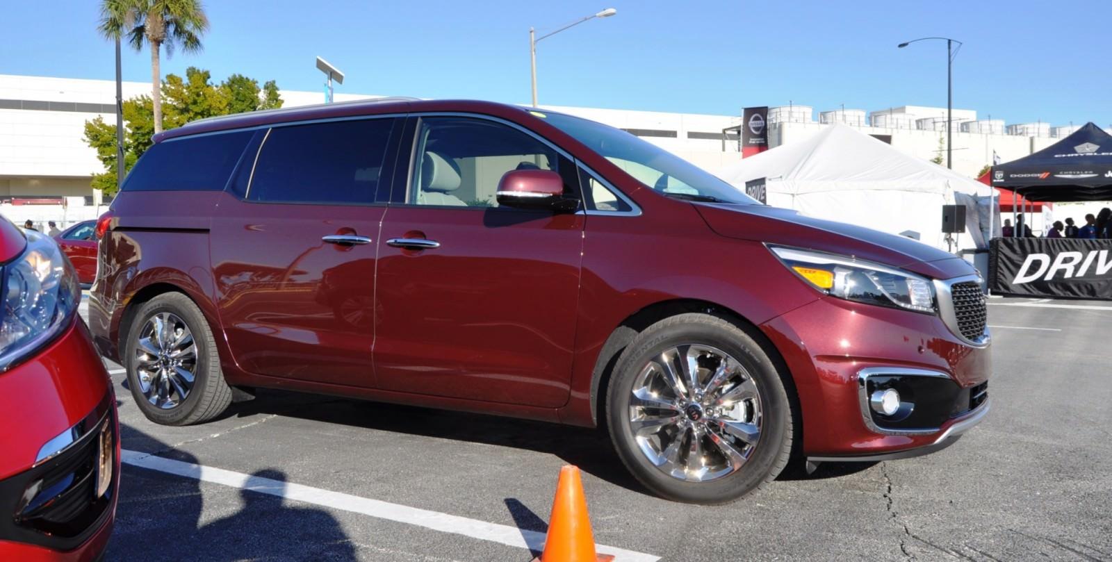 2015 kia sedona sxl at 2014 new york auto show car