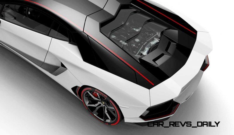 2015 Lamborghini Aventador LP 700-4 Pirelli Edition 1