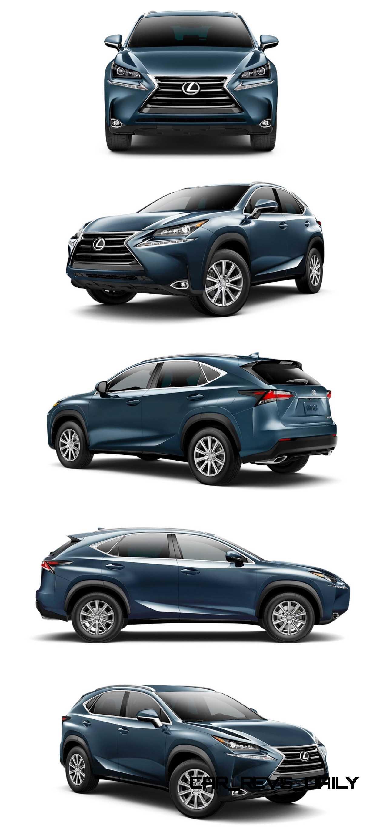 Lexus Nx 200T F Sport >> 2015 Lexus NX Colors