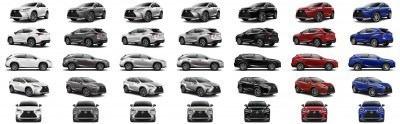 2015 Lexus NX200t F Sport COLORS 1-tile