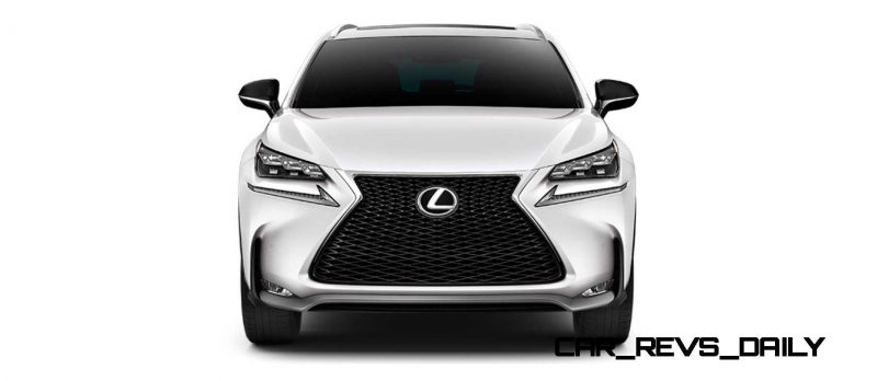 2015 Lexus NX200t F Sport COLORS 45