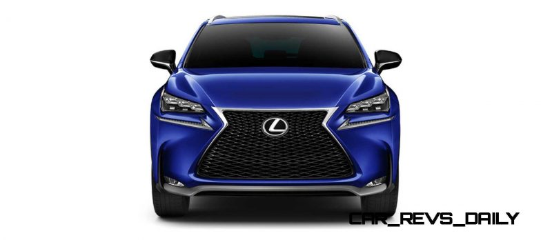 2015 Lexus NX200t F Sport COLORS 55