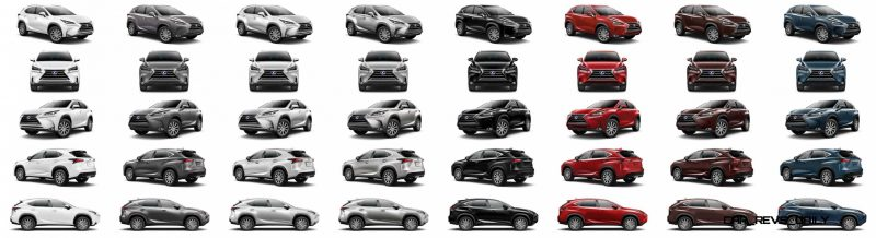 2015 Lexus NX300h Colors 31-tile