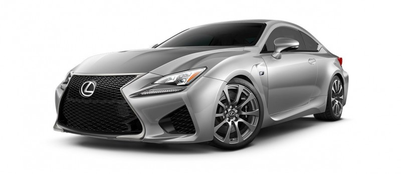 2015 Lexus RC F Colors and Wheels Visualizer 19