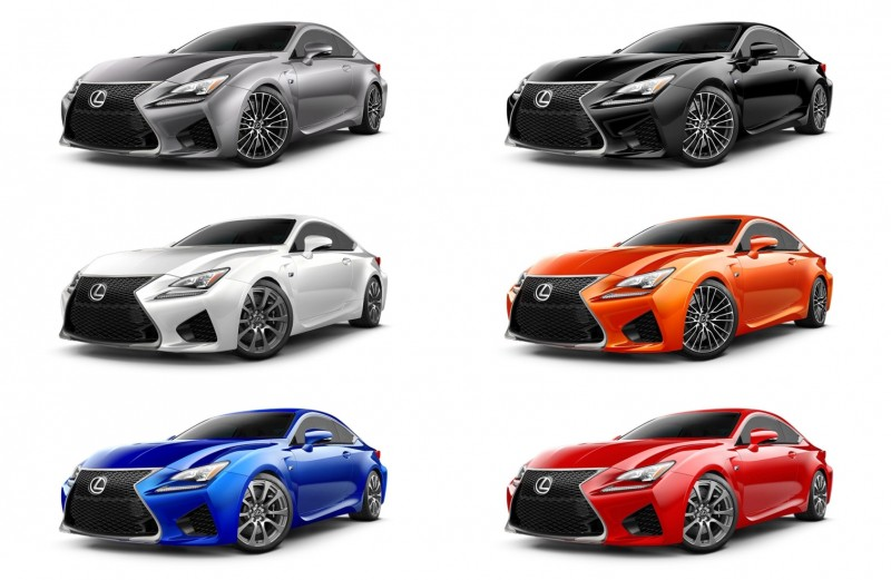 2015 Lexus RC F Colors and Wheels Visualizer 20-tile