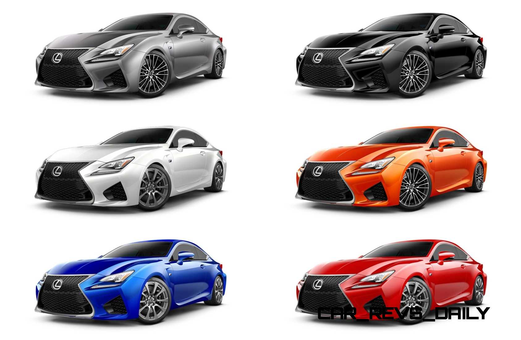 2015 Lexus RC F Colors