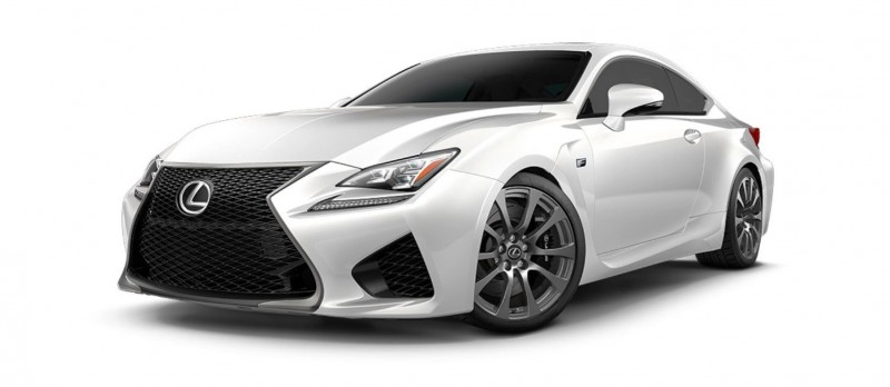 2015 Lexus RC F Colors and Wheels Visualizer 22