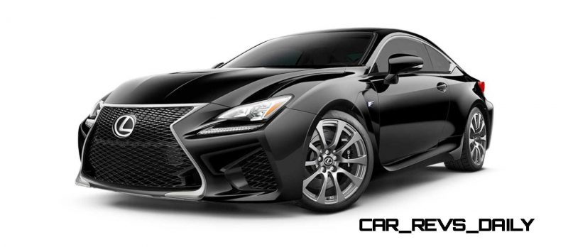 2015 Lexus RC F Colors and Wheels Visualizer 24