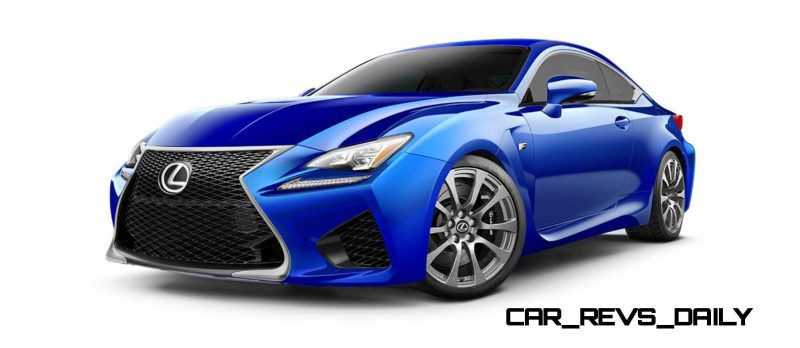 2015 Lexus RC F Colors and Wheels Visualizer 25