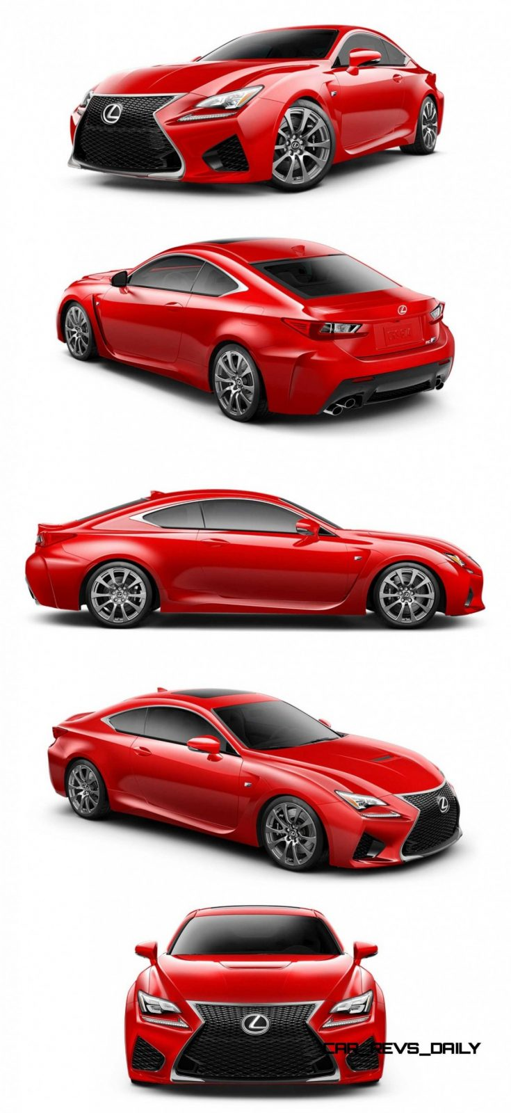 2015 Lexus RC F Colors and Wheels Visualizer 26