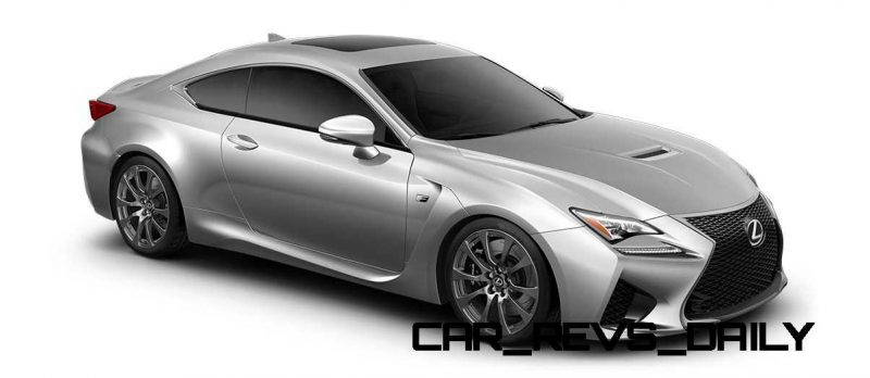 2015 Lexus RC F Colors and Wheels Visualizer 35