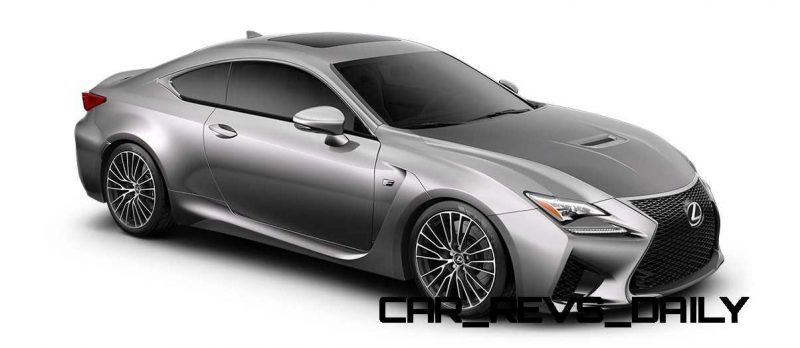 2015 Lexus RC F Colors and Wheels Visualizer 36