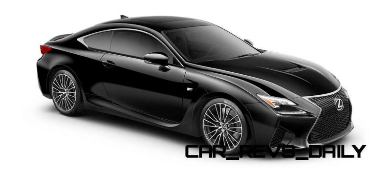 2015 Lexus RC F Colors and Wheels Visualizer 37