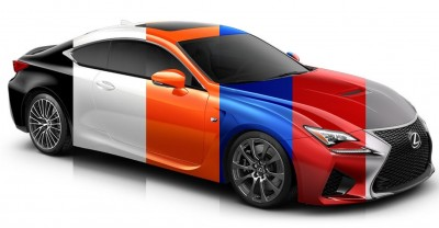 2015 Lexus RC F Colors and Wheels Visualizer 37_001-horz