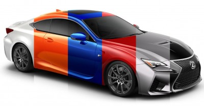 2015 Lexus RC F Colors and Wheels Visualizer 38_001-horz
