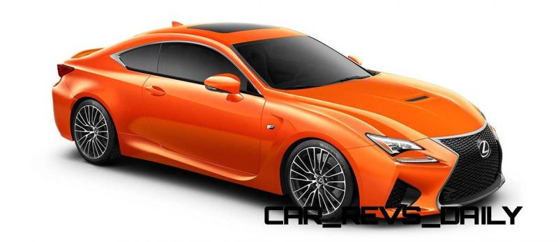 2015 Lexus RC F Colors and Wheels Visualizer 39