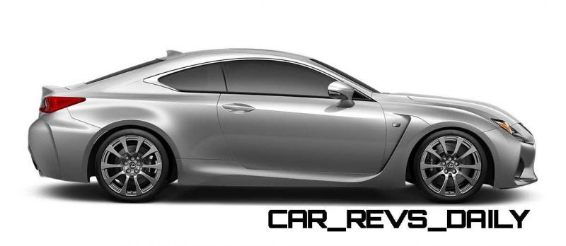 2015 Lexus RC F Colors and Wheels Visualizer 43