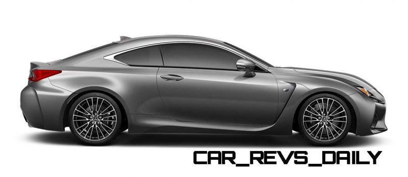 2015 Lexus RC F Colors and Wheels Visualizer 44