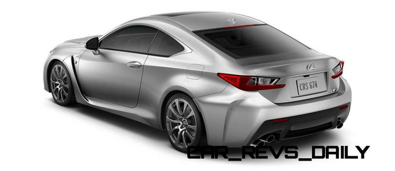 2015 Lexus RC F Colors and Wheels Visualizer 49