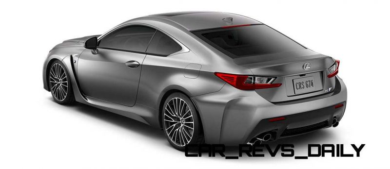 2015 Lexus RC F Colors and Wheels Visualizer 50