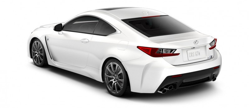 2015 Lexus RC F Colors and Wheels Visualizer 52
