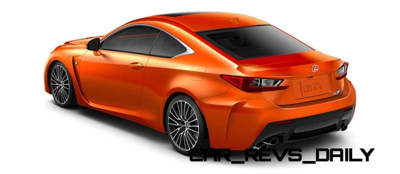 2015 Lexus RC F Colors and Wheels Visualizer 53