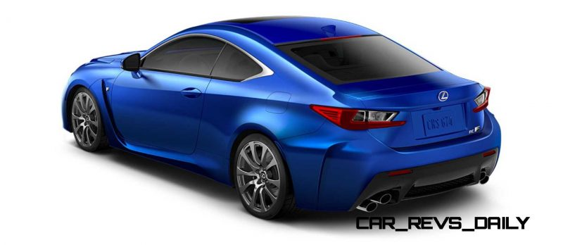 2015 Lexus RC F Colors and Wheels Visualizer 55