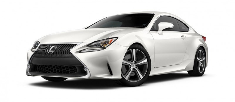 2015 Lexus RC350 Colors Visualizer + F Sport vs Standard 1