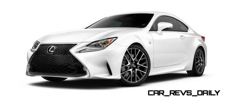 2015 Lexus RC350 Colors Visualizer + F Sport vs Standard 10