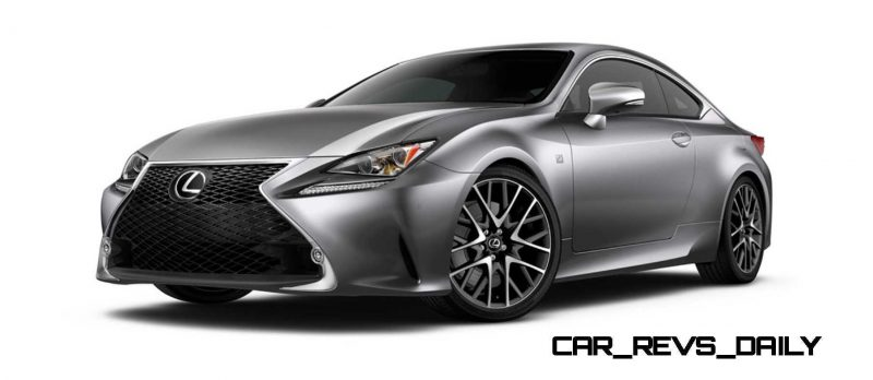 2015 Lexus RC350 Colors Visualizer + F Sport vs Standard 11