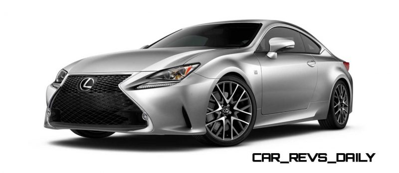 2015 Lexus RC350 Colors Visualizer + F Sport vs Standard 12