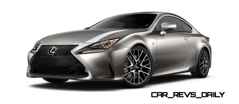 2015 Lexus RC350 Colors Visualizer + F Sport vs Standard 13