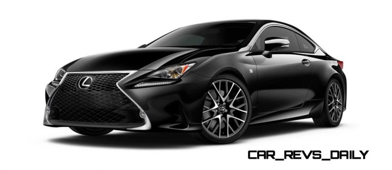 2015 Lexus RC350 Colors Visualizer + F Sport vs Standard 14