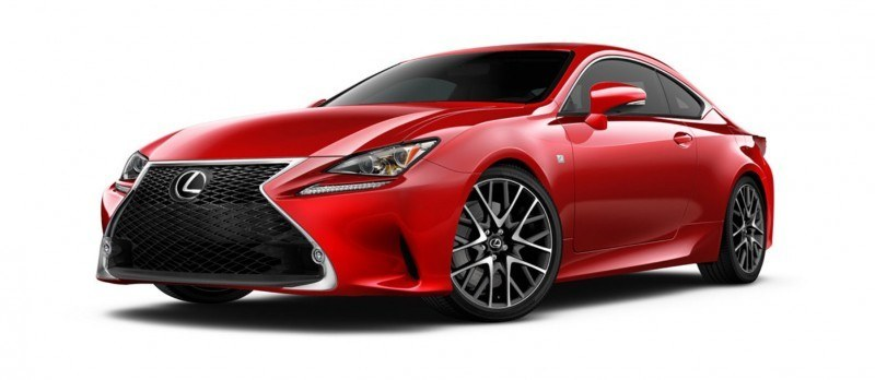 2015 Lexus RC350 Colors Visualizer + F Sport vs Standard 15