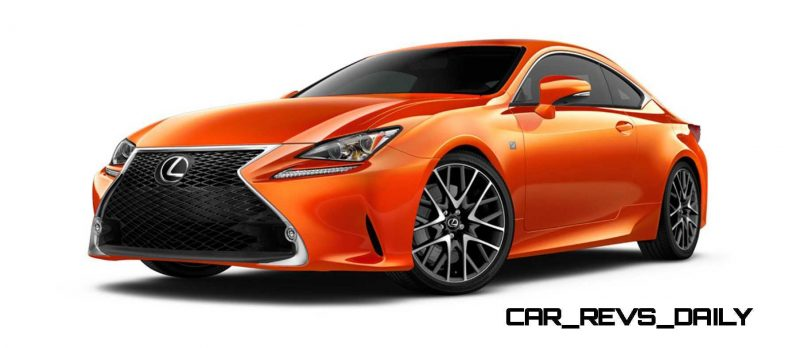 2015 Lexus RC350 Colors Visualizer + F Sport vs Standard 16