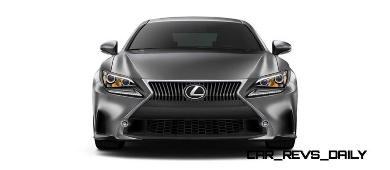 2015 Lexus RC350 Colors Visualizer + F Sport vs Standard 19