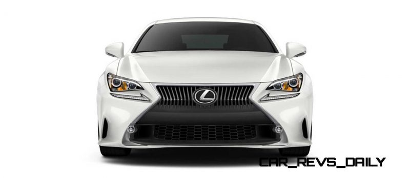 2015 Lexus RC350 Colors Visualizer + F Sport vs Standard 21