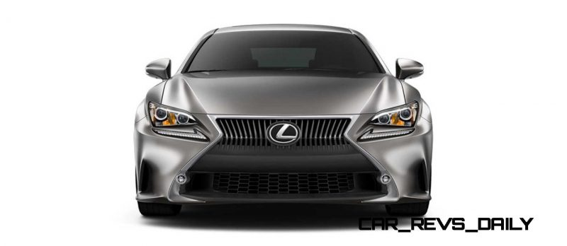 2015 Lexus RC350 Colors Visualizer + F Sport vs Standard 23