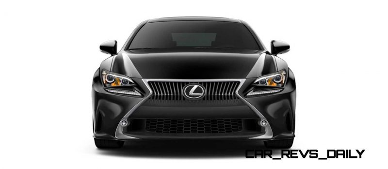 2015 Lexus RC350 Colors Visualizer + F Sport vs Standard 24