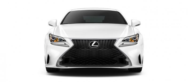 2015 Lexus RC350 Colors Visualizer + F Sport vs Standard 27