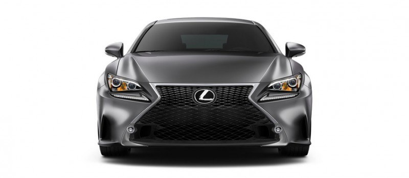 2015 Lexus RC350 Colors Visualizer + F Sport vs Standard 28