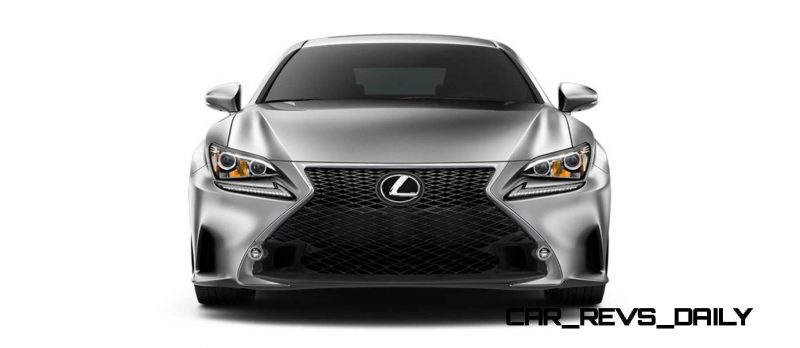 2015 Lexus RC350 Colors Visualizer + F Sport vs Standard 29