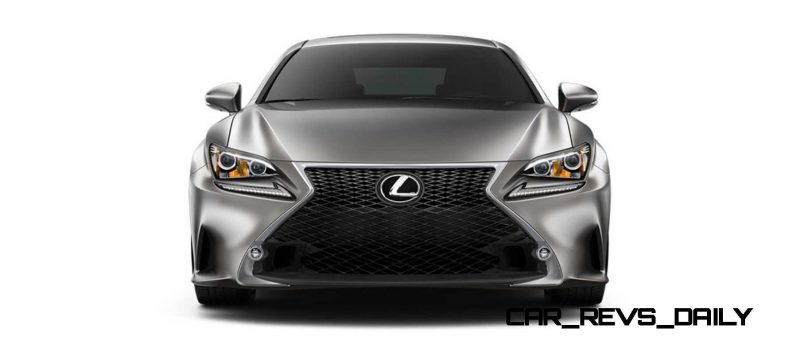 2015 Lexus RC350 Colors Visualizer + F Sport vs Standard 30
